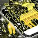 Neon Capricorn Keyboard icon