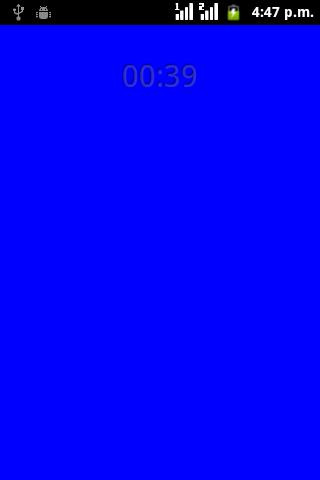 Blue Light screenshot