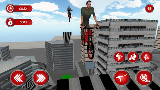 BMX RoofTop Bicycle Tricks 1.4 Mod screenshots 4
