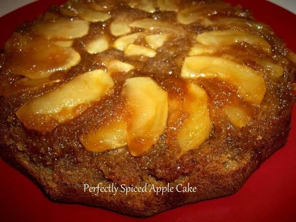 ~ Perfectly Spiced Apple Cake ~ Recipe
