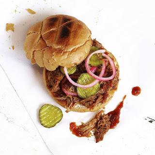 Carolina Style Pulled Pork Sandwiches