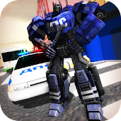 Traffic Police X Ray Robot 3D