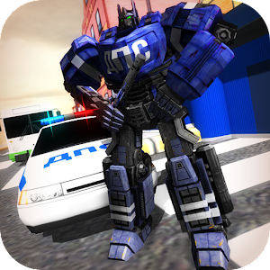 Traffic Police X Ray Robot 3D for PC and MAC