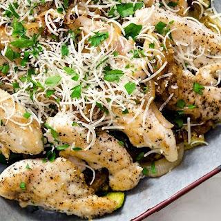 Sauteed Chicken Zucchini Squash Recipes