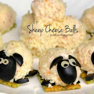 Sheep Cheese Balls.