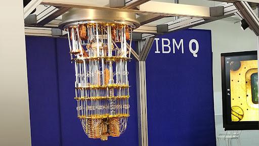 IBM's quantum computer.