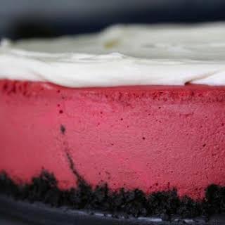 Pink Velvet Cheesecake.