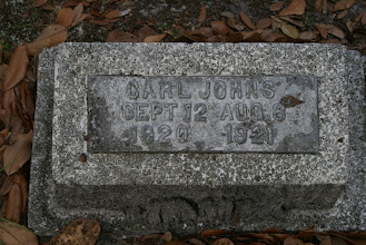 Photo: Carl Johns / Family Unknown