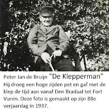 Photo: P fam de Bruijn; Peter Jan de Bruijn