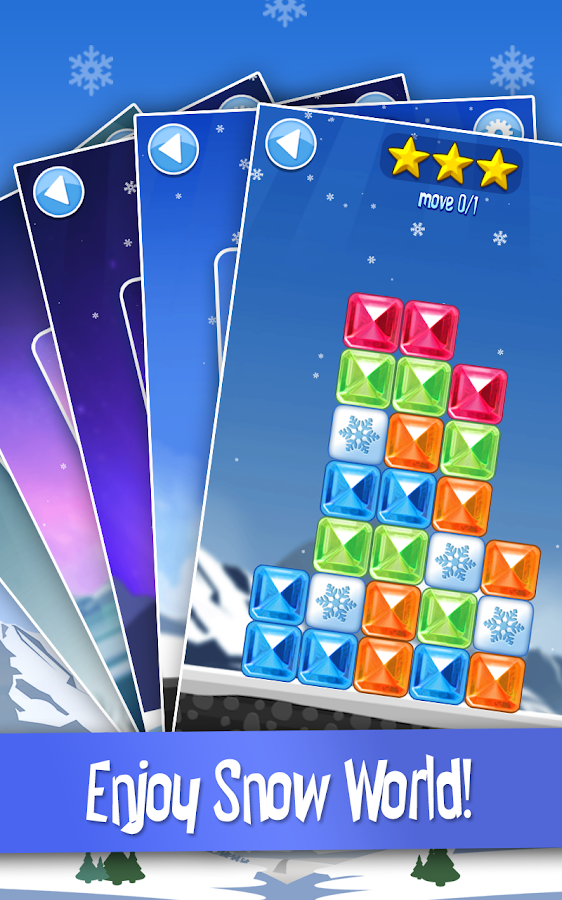 Break The Ice: Snow World- screenshot