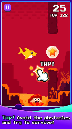 Baby Shark 8BIT : Finding Friends 1.0 screenshots 2