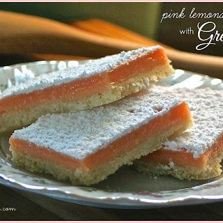 PINK LEMONADE BARS with GRENADINE Recipe