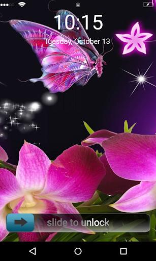 Flying Butterfly Locker Theme