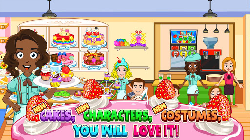 My Town : Bakery & Cooking Kids Game android2mod screenshots 14