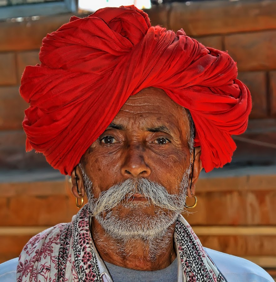 inde by Christian Heitz - People Portraits of Men ( senior citizen,  )