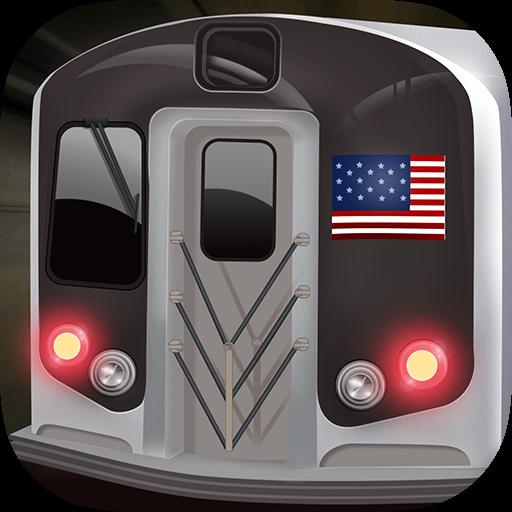 地铁模拟器3D---纽约版 模擬 App LOGO-APP試玩