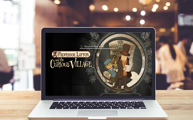 Professor Layton Curious Village Game Theme