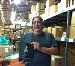 Photo: Mark Kemp, President of Kemp Enterprises in Farmington, ME. Celebrating 25 years as an Accredited Business.