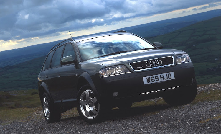 The Audi A6 Allroad was a crossover packed with technology. Picture: NEWSPRESS UK