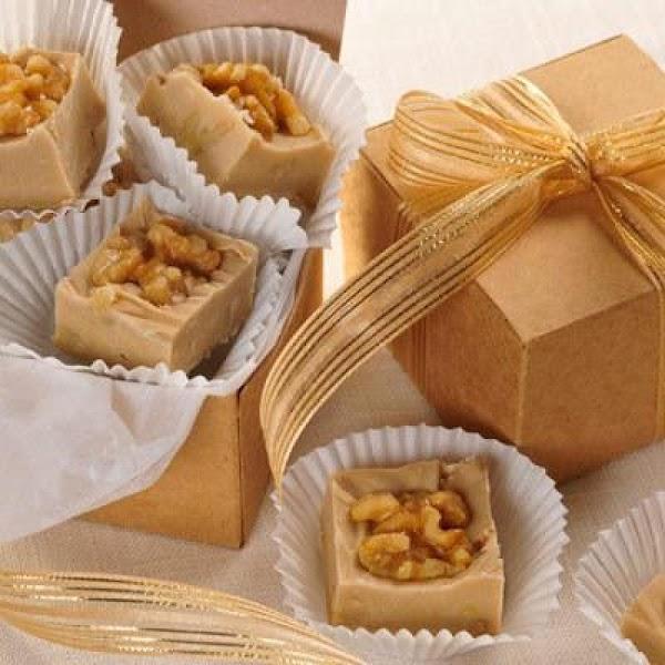 Nutty Maple Fudge Recipe