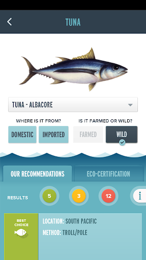 Seafood Watch screenshot 3