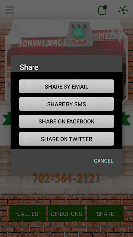 android Johnny Mac's Restaurant & Bar Screenshot 4