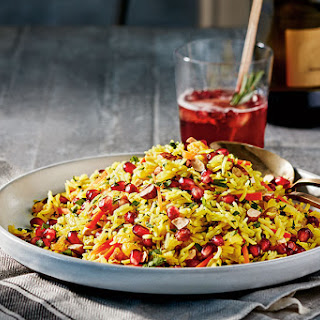 Jewelled Pomegranate Rice