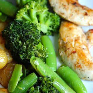 Lemon Broccoli and Peas.