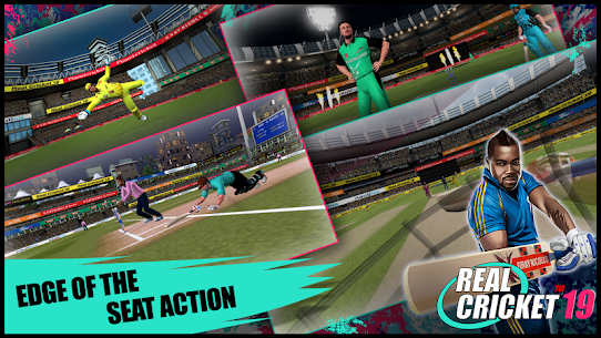 Real Cricket™ 19 App Latest Version Download For Android and iPhone 5