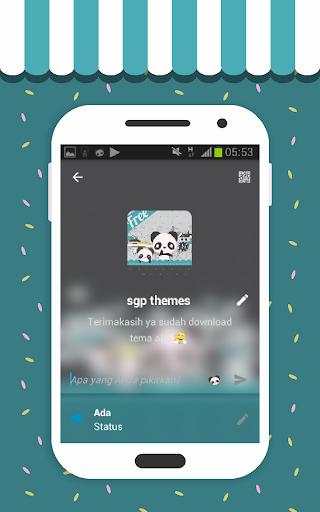Tema Panda by SGP