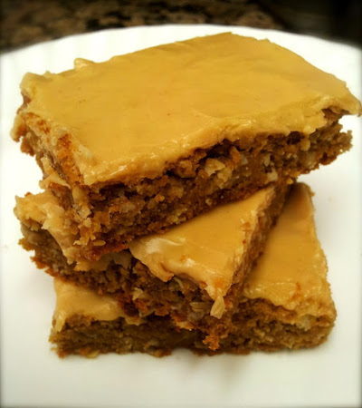 Peanut Butter Chews / Peanut Butter Bars Recipe