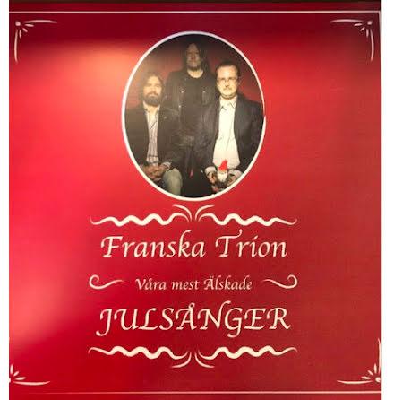 LP Franska Trion-Våra Mest Älskade ltd 150 ex Röd vinyl