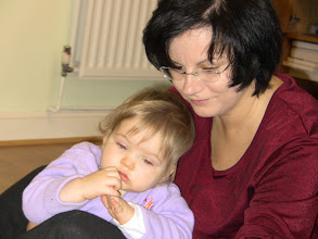 Photo: With aunt Renata.