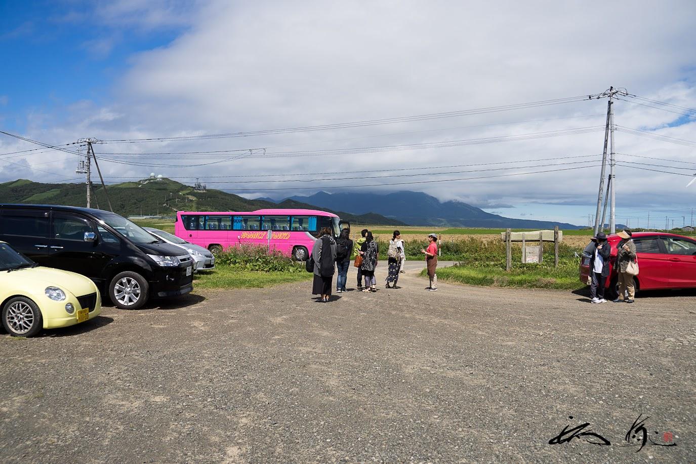 バス乗車で牧場をひと周り