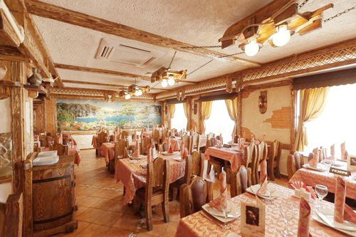 Большой зал в ресторане Мангал Сити для свадьбы