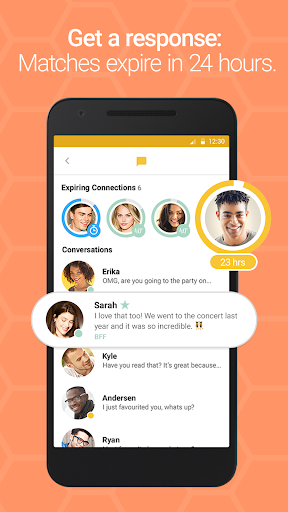 Bumble — Meet, Date & Network Screenshot