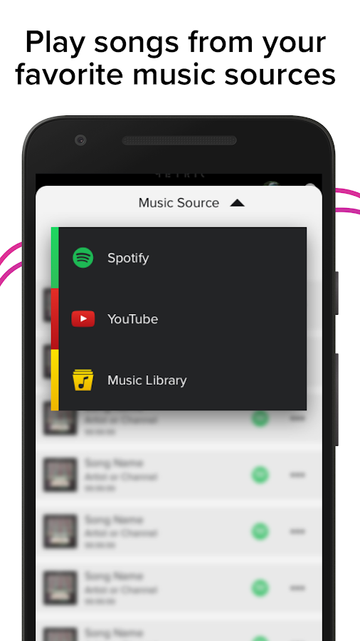 AmpMe - Play Music Louder on YouTube & Spotify- screenshot