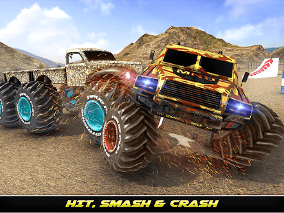 Army Monster Truck Demolition : Derby Games 2020 for PC-Windows 7,8,10 and Mac apk screenshot 6