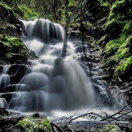 by Ivan Pavlov - Nature Up Close Water ( nikon, nature, waterfall, nd, long exposure, river, colorful )