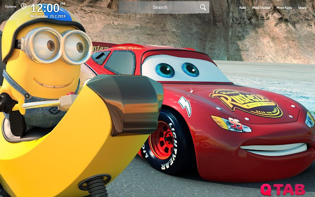 Cars 3 Wallpapers Cars 3 New Tab