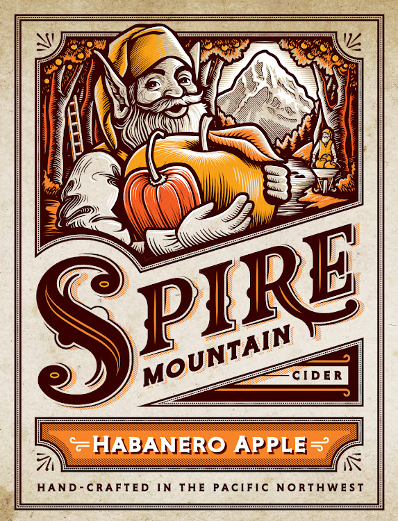 Logo of Spire Blazing Habanero Apple Cider