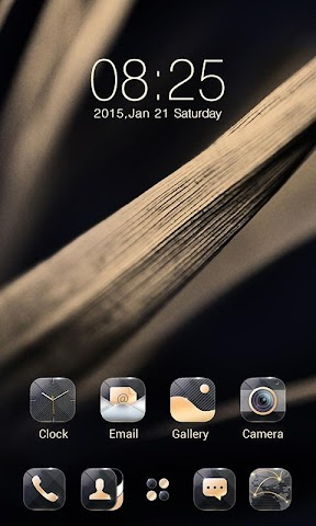 android Quality GO Launcher Theme Screenshot 3