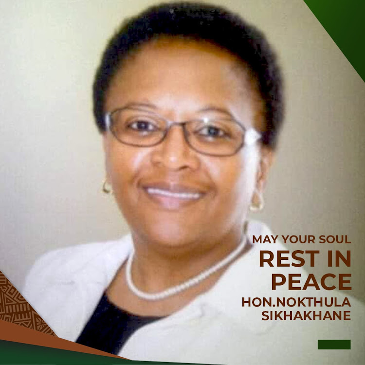 Nokuthula Sikhakhane, an adviser in the office of the Gauteng premier, died of Covid-19 related complications. Her family described her as humble and a fighter against any injustice.