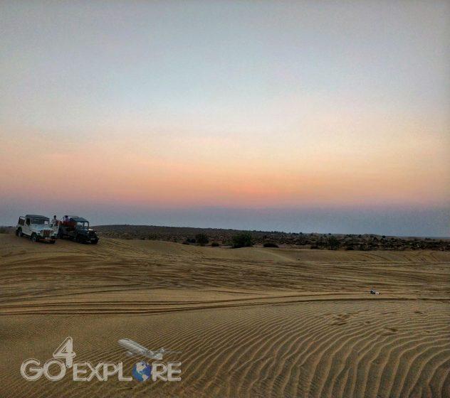Sam desert in Jaisalmer Solo Travel