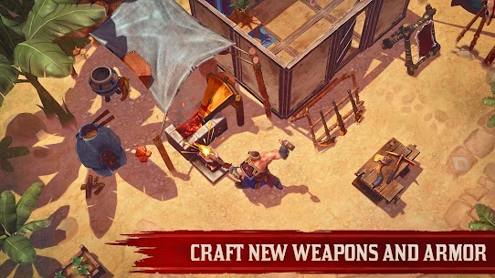 Exile Survival – Survive to fight the Gods again Apk Download For Android and Iphone 5