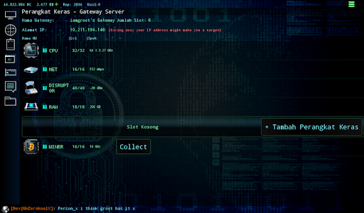 Hackers Online (MMO Simulator) 0.3.6.2 screenshots 11