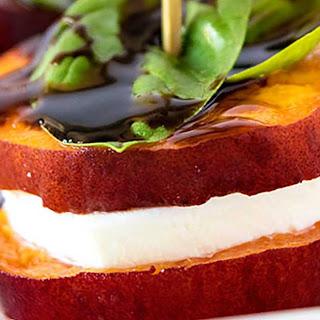 Peach Caprese Appetizer Recipe