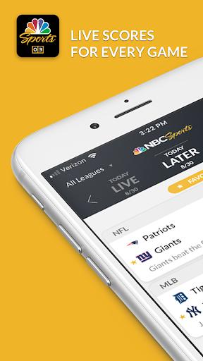 NBC Sports Scores 3.2.0 screenshots 1