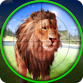 Lion Hunter Sniper Safari - Animal Hunting Game