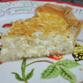 Cottage Cheese Pie.
